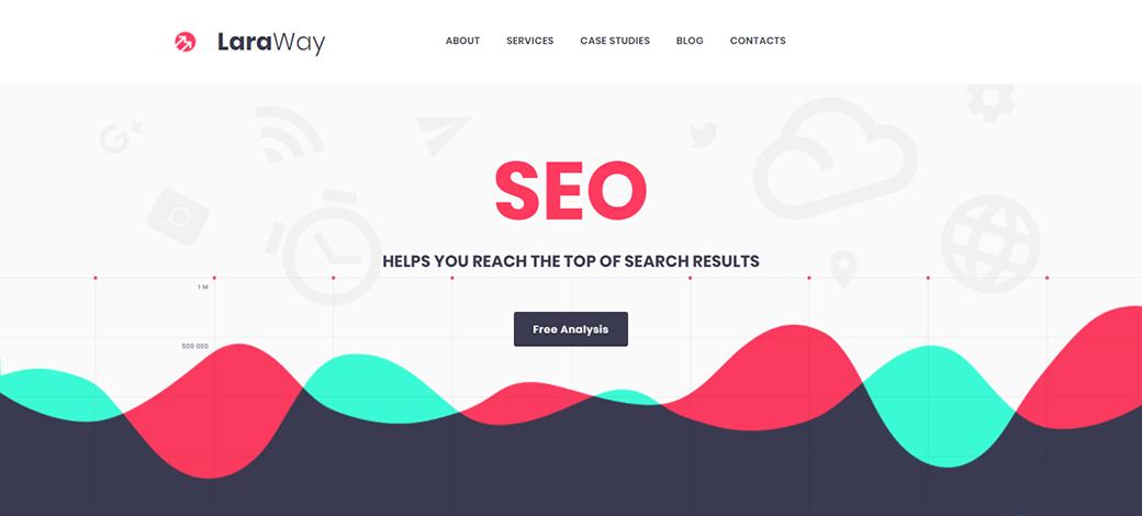 LaraWay - SEO & Digital Marketing Agency Website Template