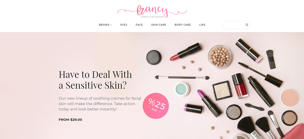Beauty Responsive Ecommerce Template
