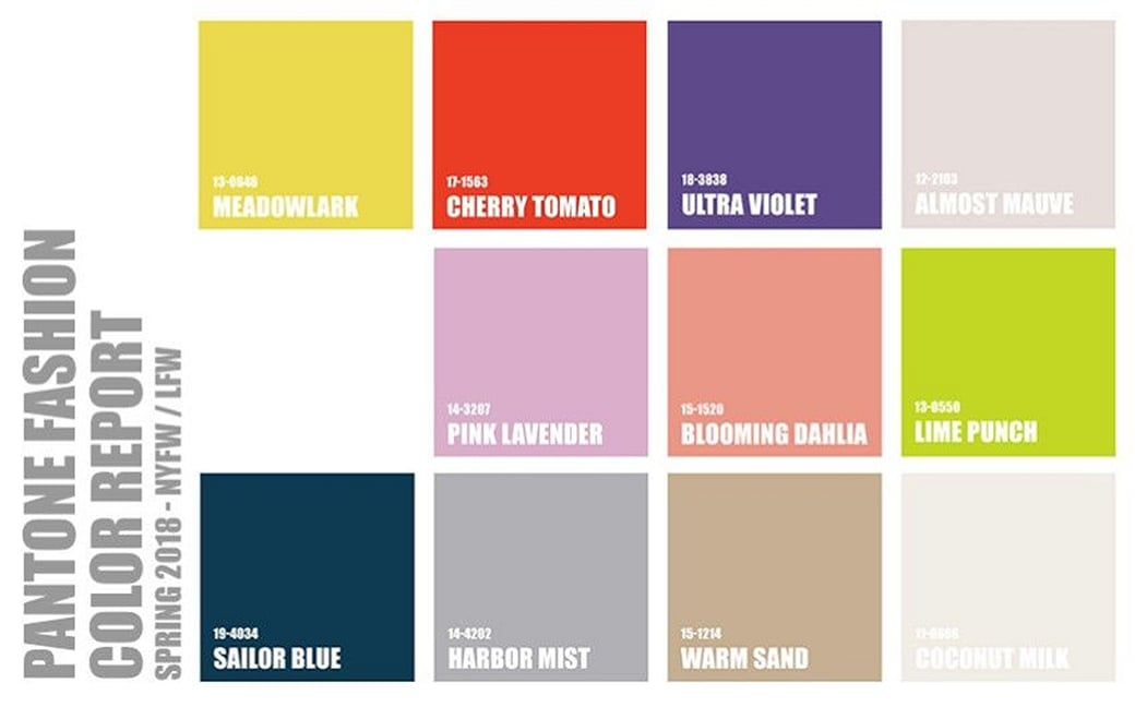 Spring Color Forecast: 12 statement-making staple shades