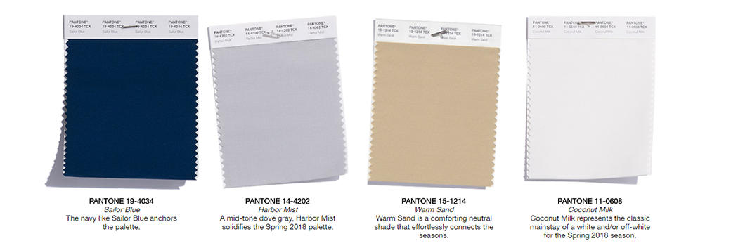 Spring Color Forecast: classic shades