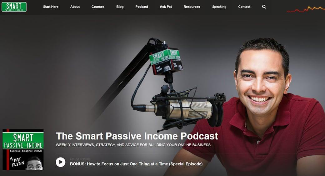 smart passive ncome content marketing podcast