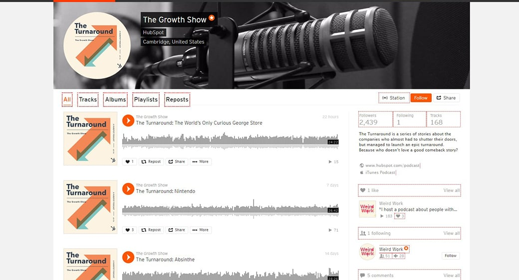 content marketing podcast the growth show