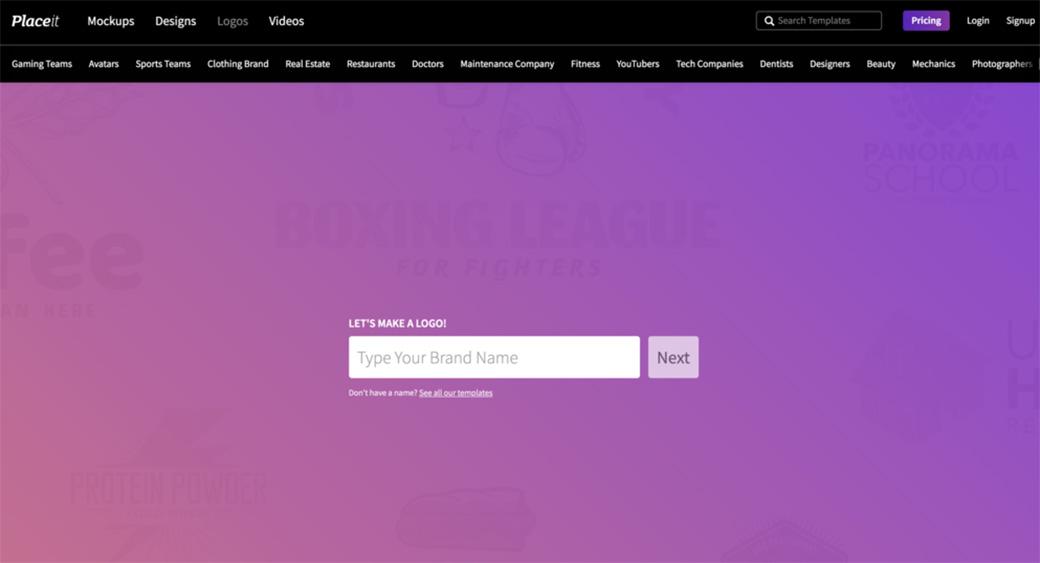 Placeit Logo Maker tool
