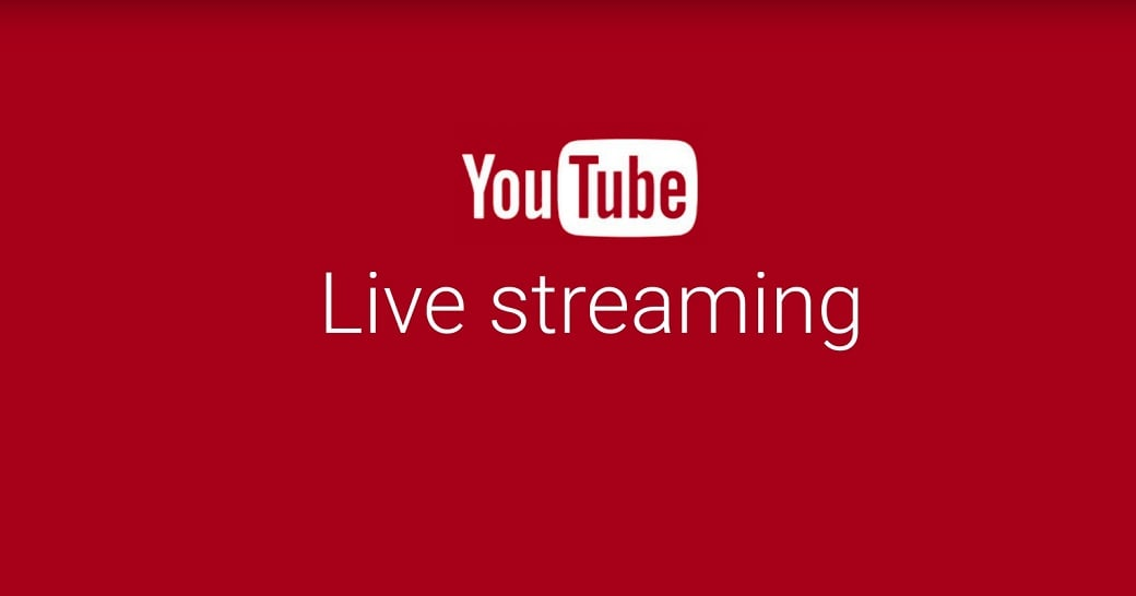 YouTube mobile live streaming image