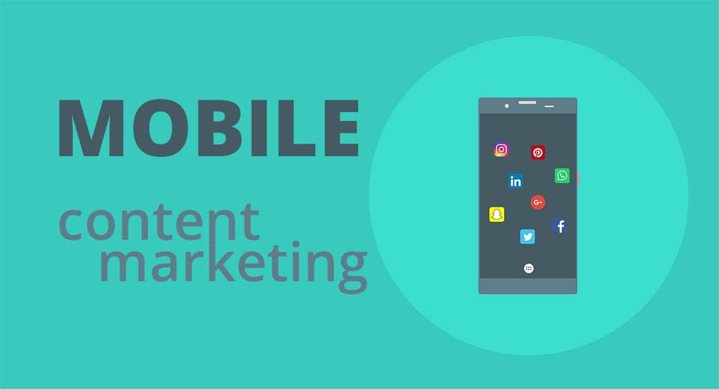 Mobile content marketing main image