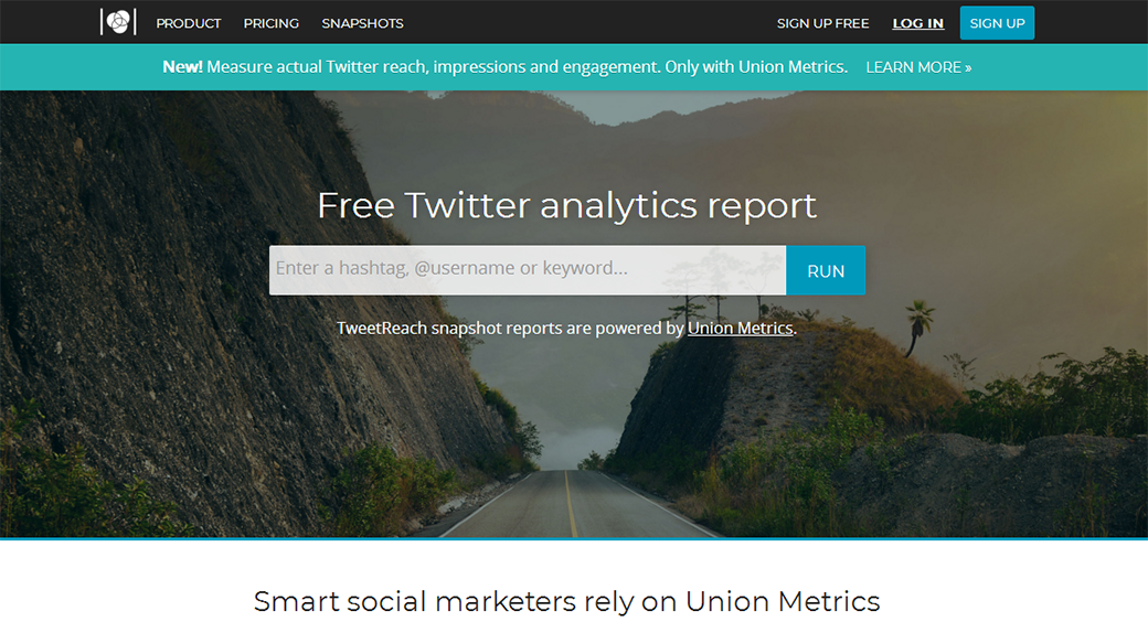 social media competitor analysis tool TweetReach