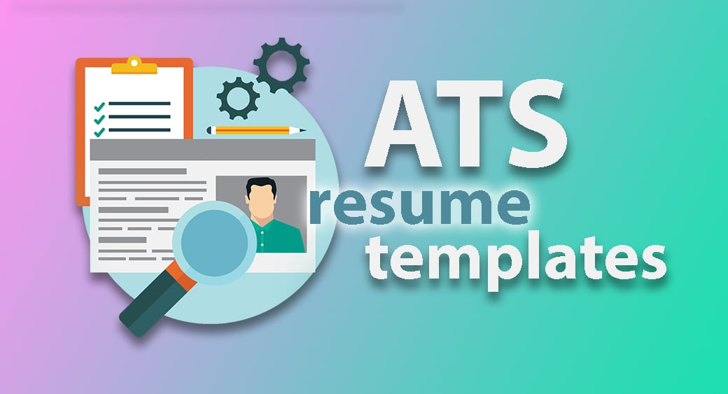 ats friendly resume template main image