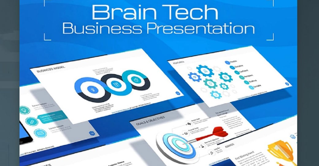 Free ppt templates for presentation to win the hearts of viewers brain free powerpoint presentation templates cheaphphosting Images