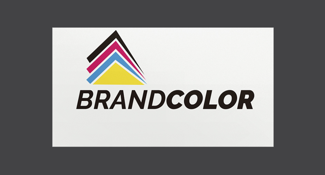 brand color logo design example