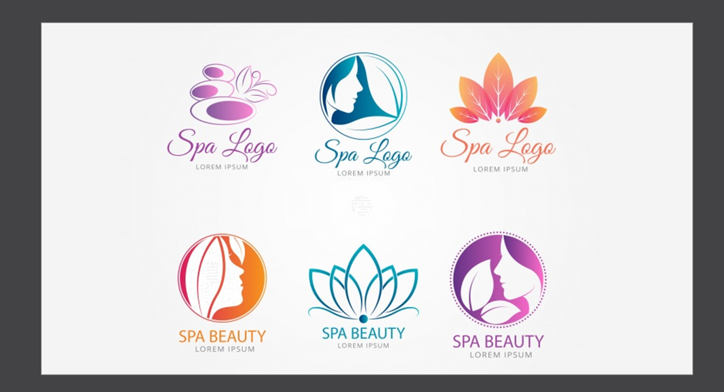 spa and beauty salon logo design example