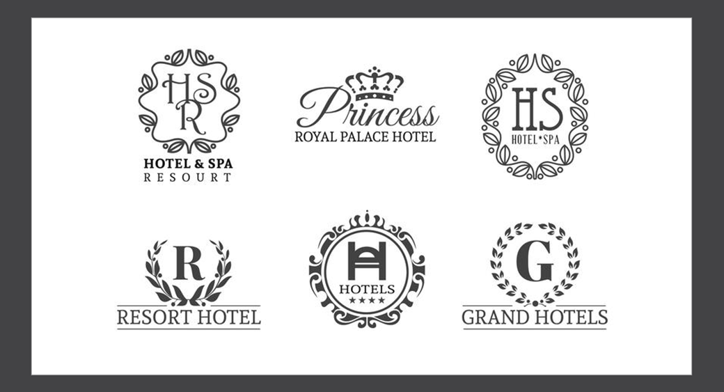 hotel and resort logo design example