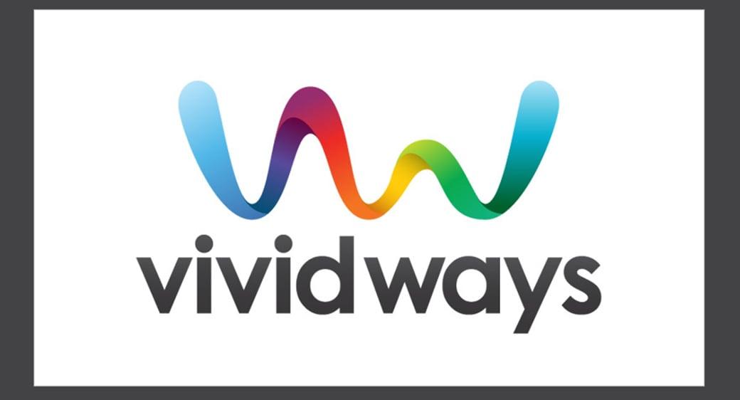 vivid ways logo design example