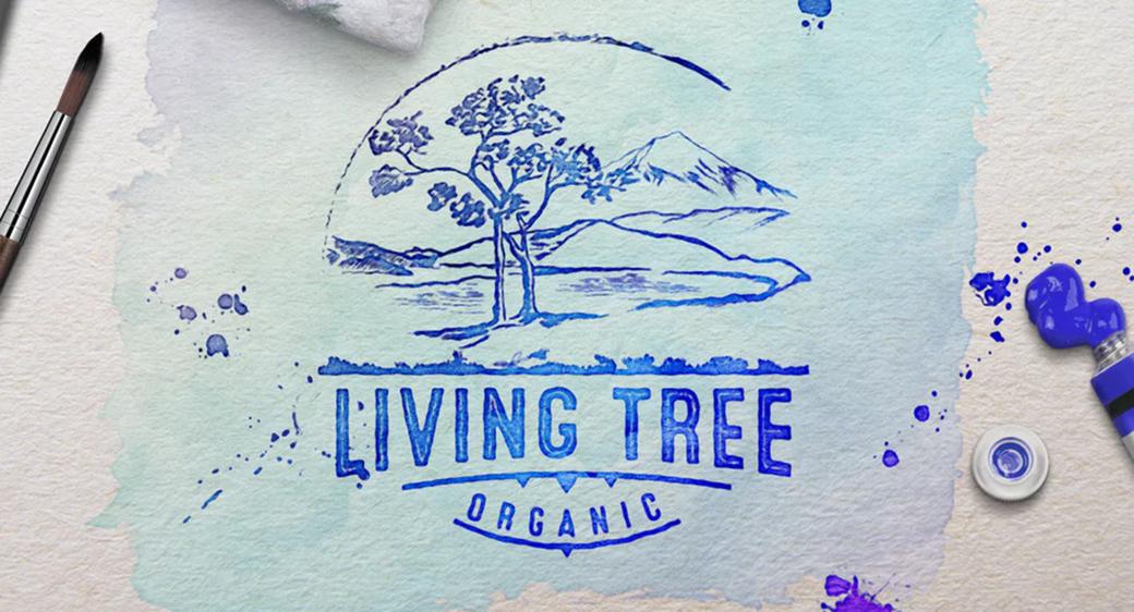 living tree logo design example