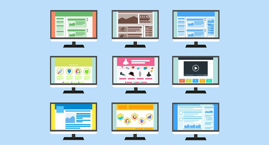 professional blog design structure image