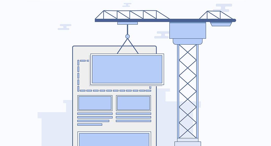 blog page design image