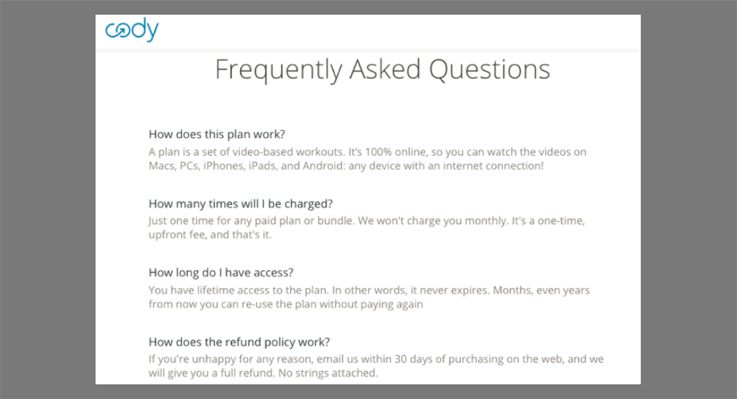 best faq page design image
