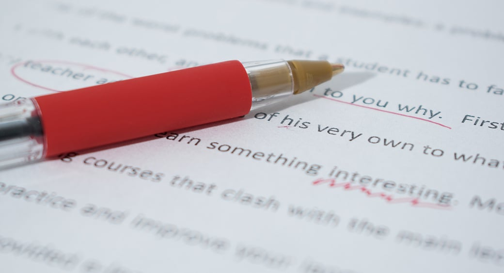 web content proofreading image