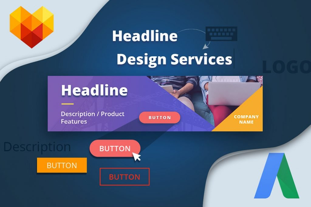 Banners Set Google AdWords design packages image