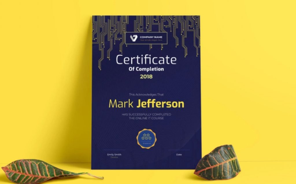 Certificate designs bundle image