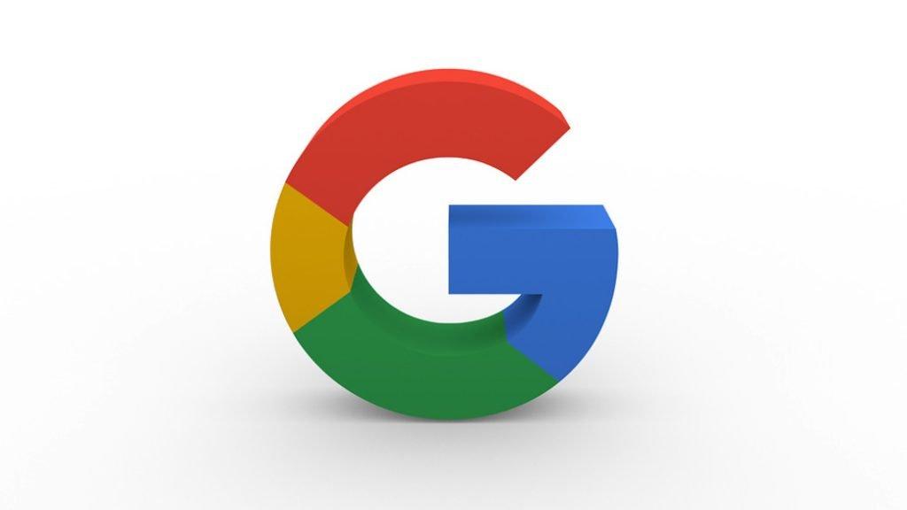 Google multicolor logo color schemes image