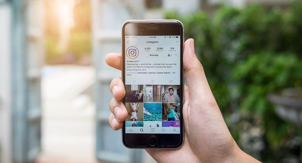 social madia marketing on the instagram