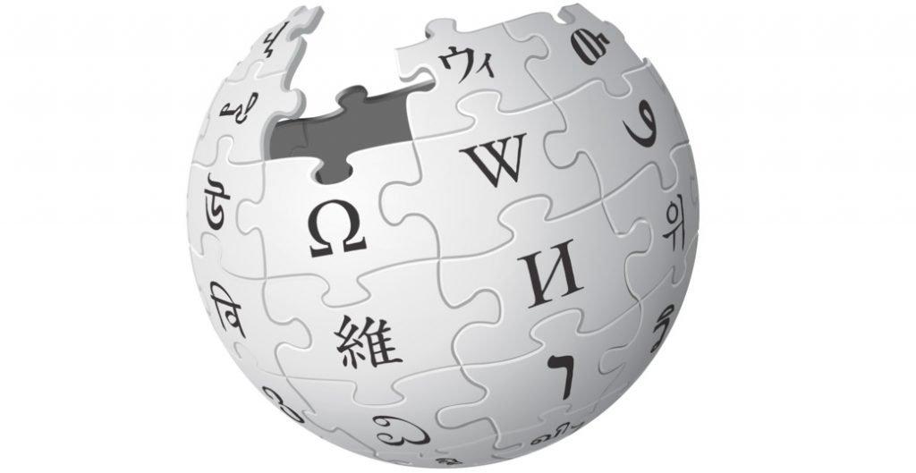 Wikipedia Logo brand color image