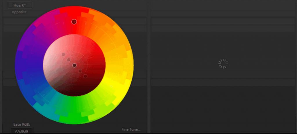 Color scheme brand colors image