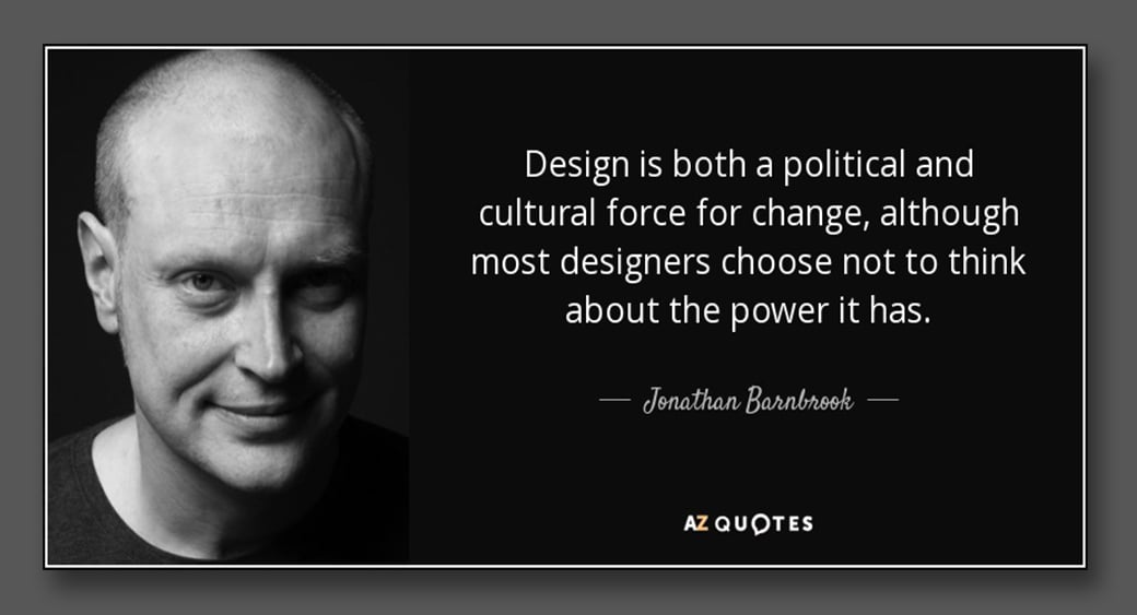 famous designer Jonathan Barabrook