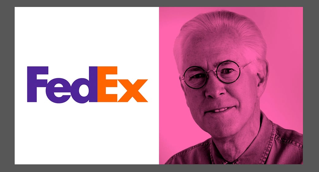 famous graphic designer - FedEx Lindon Leader