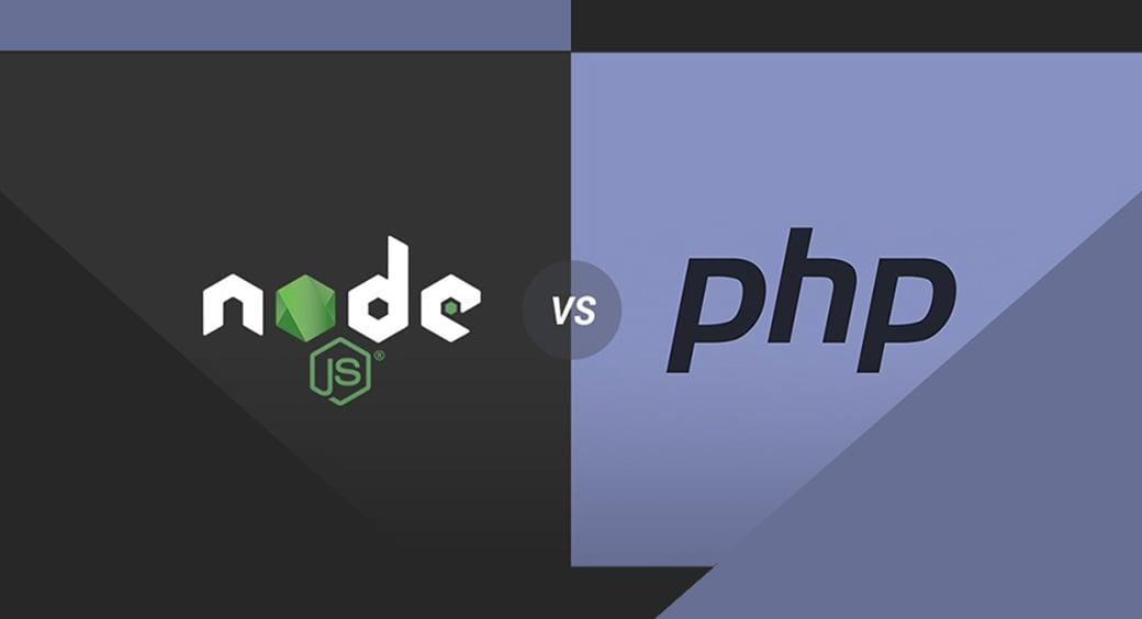 Node JS vs PHP performance main image