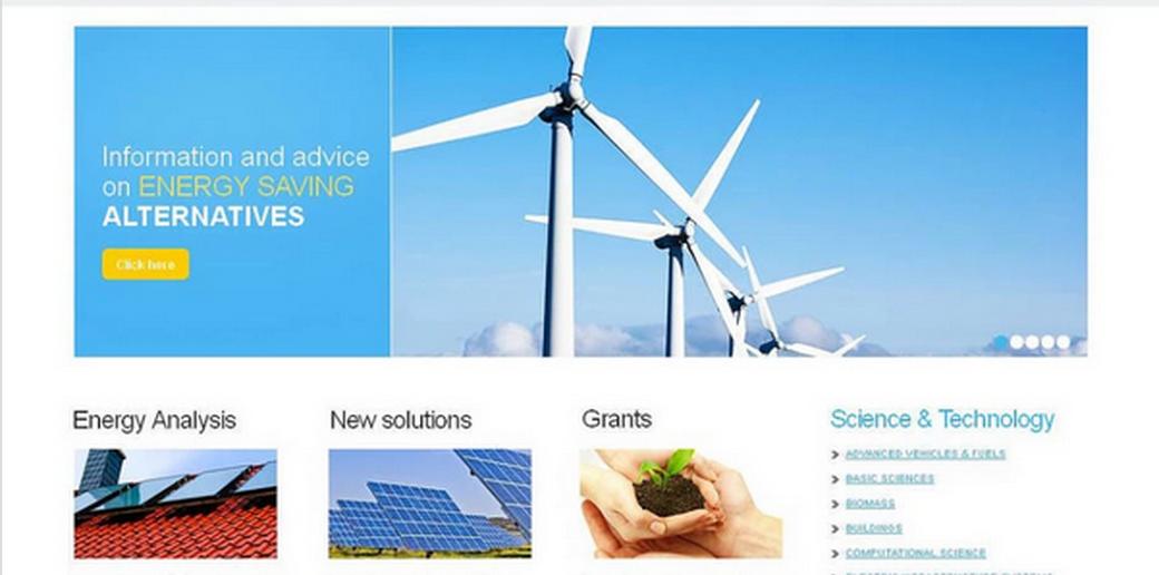 wind power website illustration