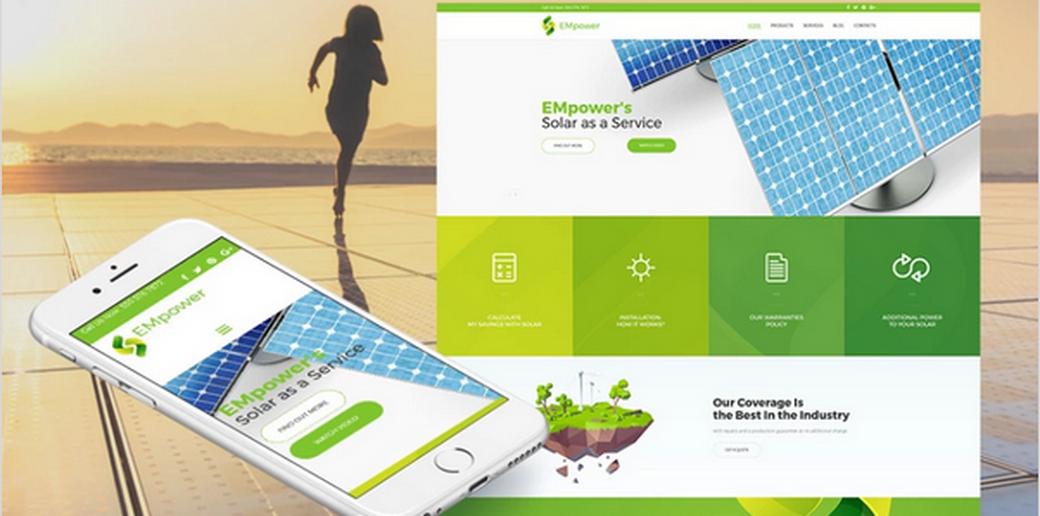 alternative energy template