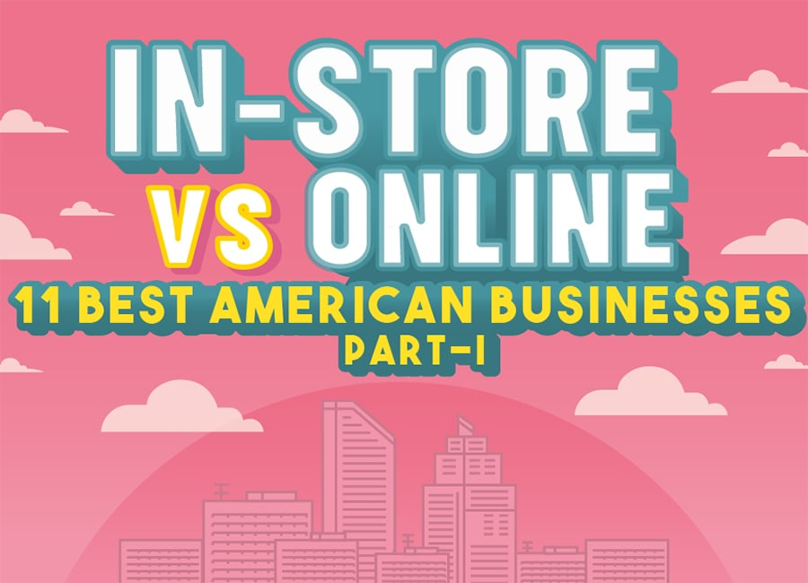 Online Shopping vs In Store Shopping – Infographics