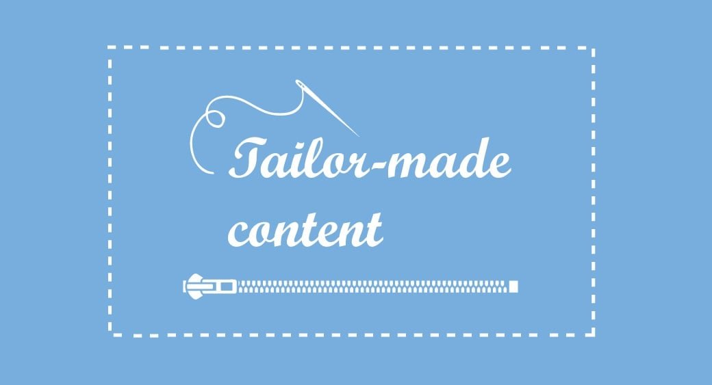 tailor made content image