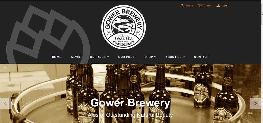 gower beer Websites