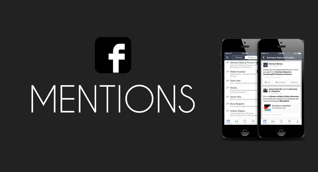 Facebook mentions as advertising metrics