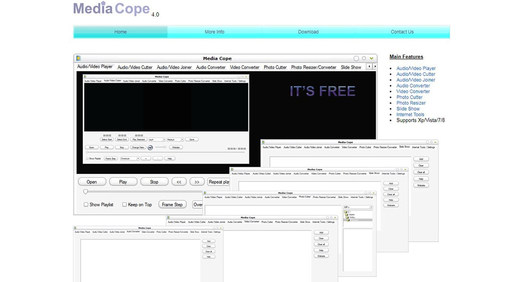 Media Cope to cut video file online
