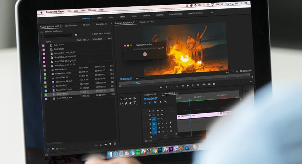 QuickTime Player video trimming software