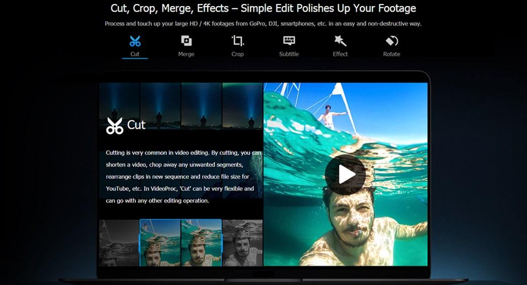 videoproc video cutter