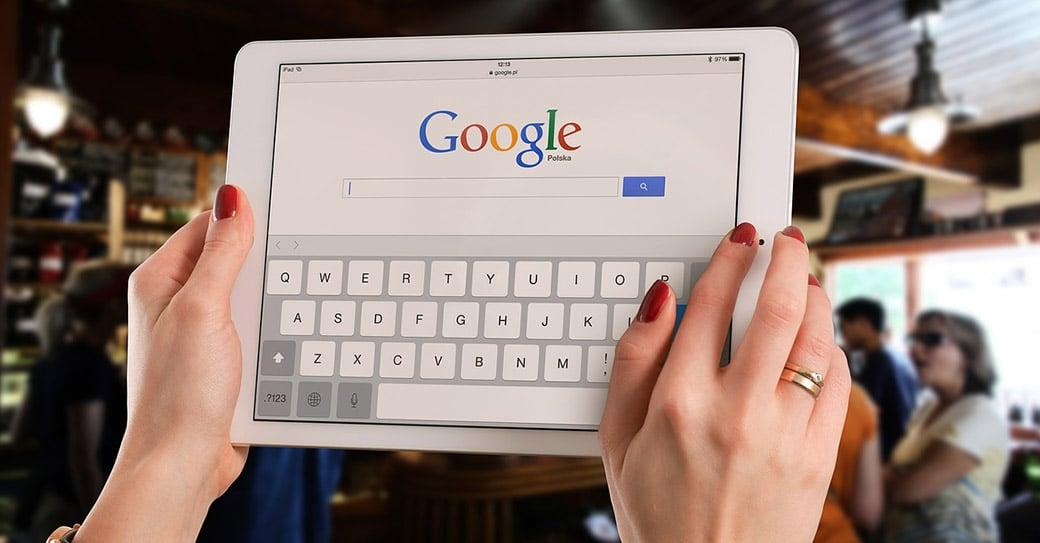 Google ranking image