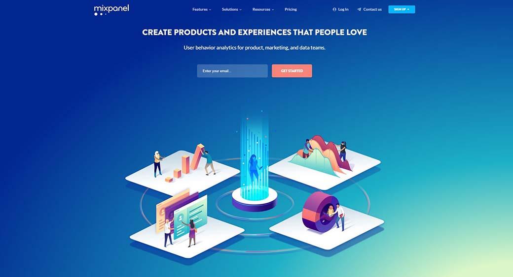 webtrend - background design with gradient