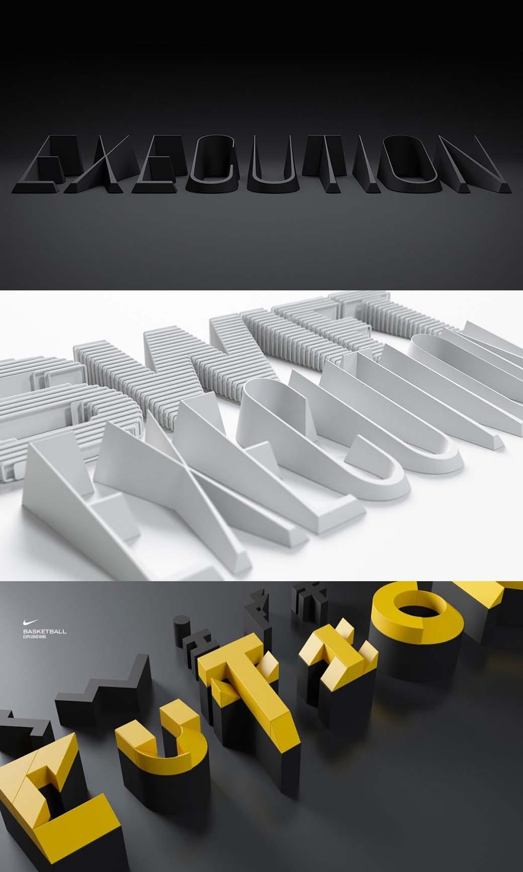 logo design trend - multi-color designs