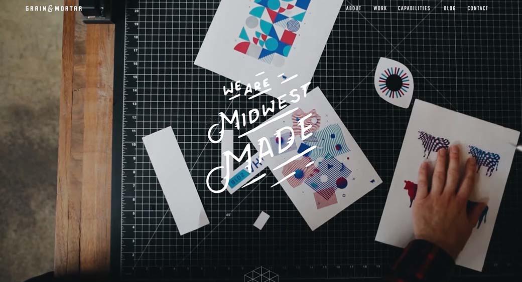 logo design trends - Background video