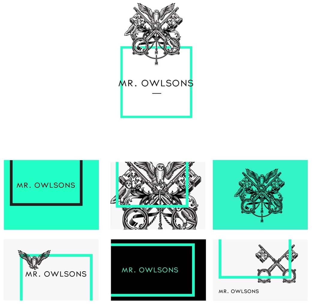 web design trend - classical drawings and engravings