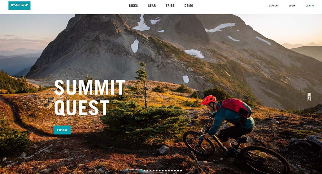 web design trend - Authentic Imagery