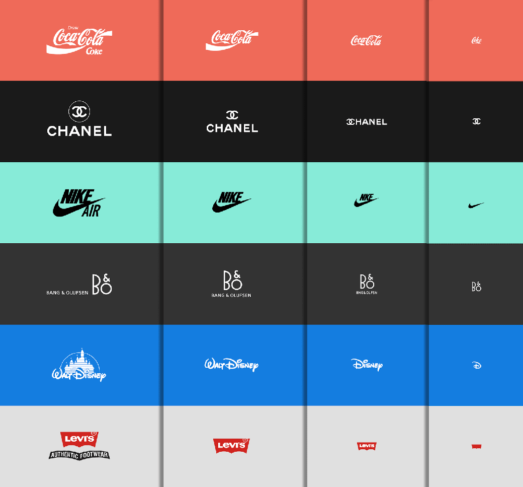 graphic design trends for most famos logo brands