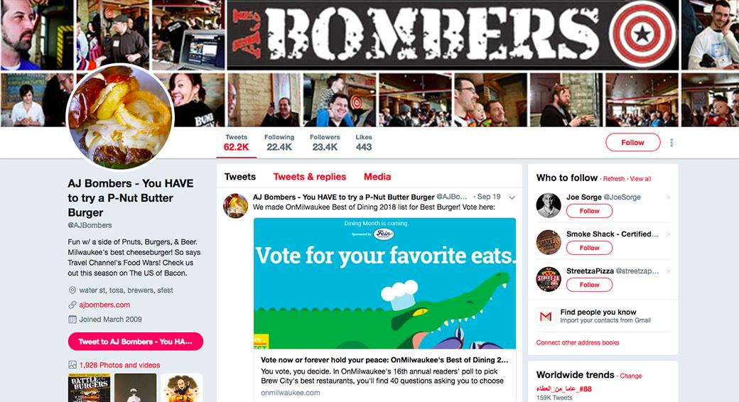 AJ Bombers case study image