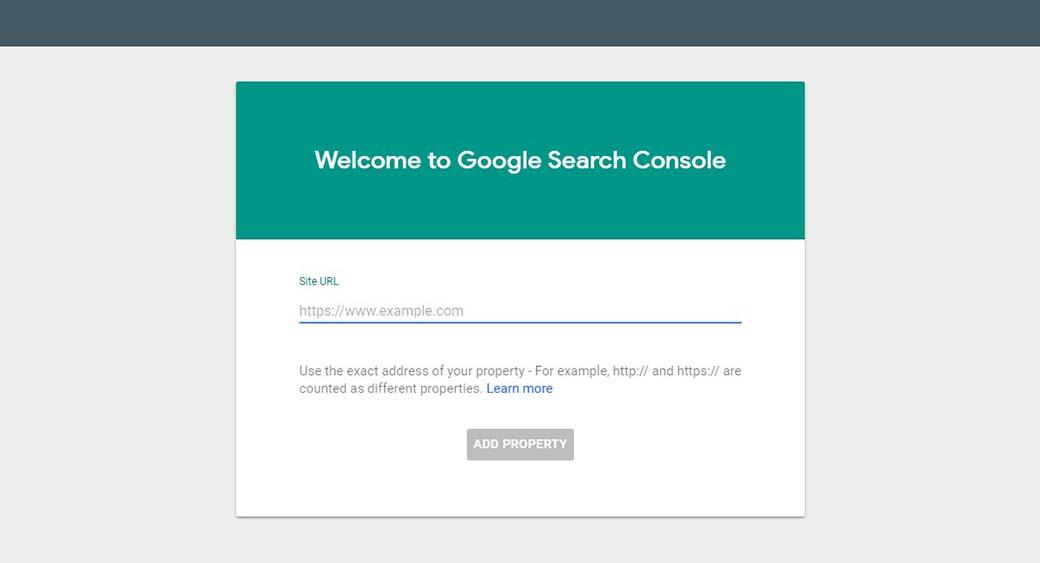 Google SEO tool Google Search Console