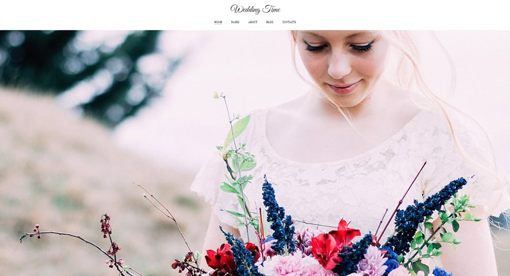 lookbook template for wedding designer