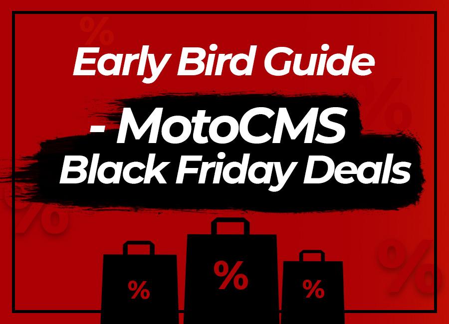 MotoCMS Черная Пятница 2018 – Какие Сюрпризы Вас Ждут?